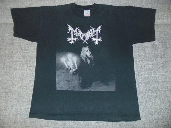 Mayhe Dead shirt XL '90 rare vintage black metal