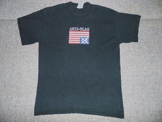 Anti-Flag Mobilize shirt L 2002 rare punk rock