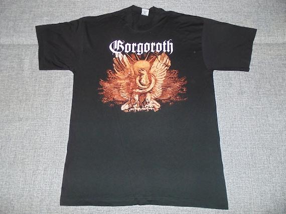 Gorgoroth Incipit Satan shirt XL 1999 rare vintage