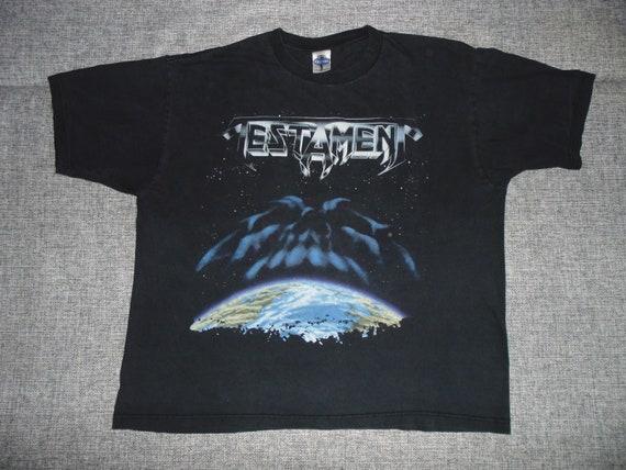 Testament – The New Order shirt XL  '00 rare thras