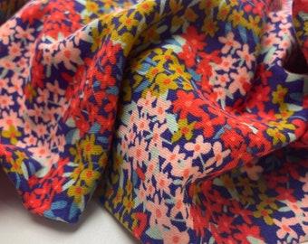 Poppy Sweat Flowers Red Blue