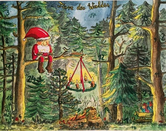 Advent Calendar Animals of the Forest