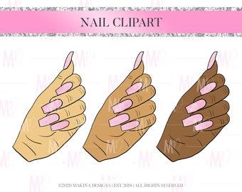 paint nails clipart etsy paint nails clipart etsy