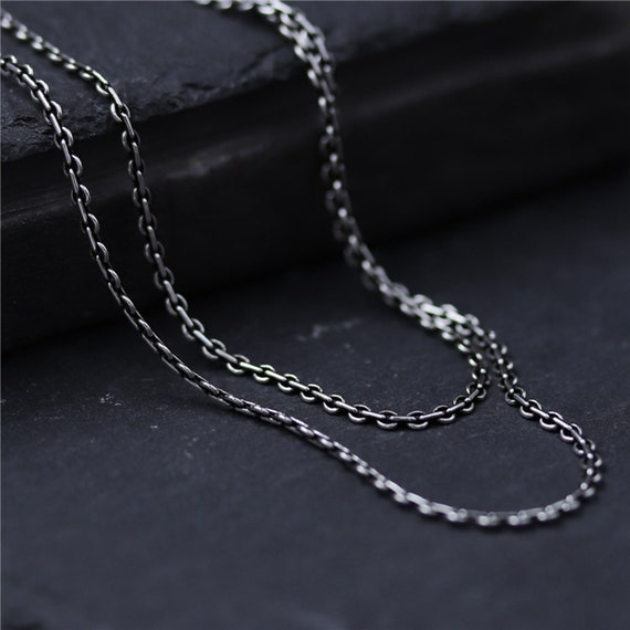 sterling silver 45cm 0.9mm ball chain 18 inch finished chain necklace findings
