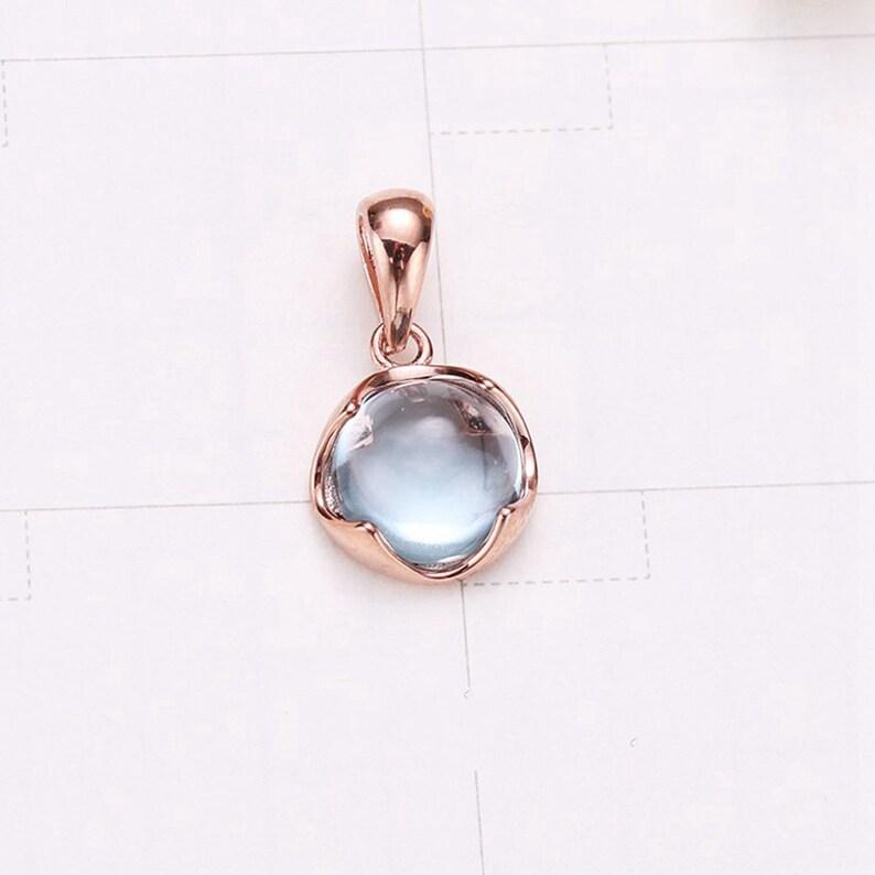 small charm Sterling Silver Topaz charm birthstone charm Topaz charm pendant tiny charm earring charm little charm necklace charm