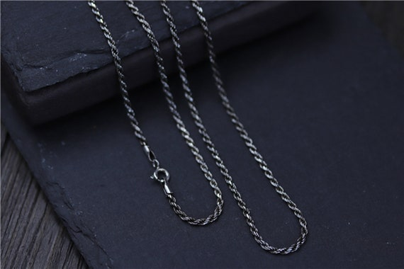 """925 Sterling Silver Filled 2mm Bead Ball Chain Necklace Long 16 18 20 22 24 34 /"""""""