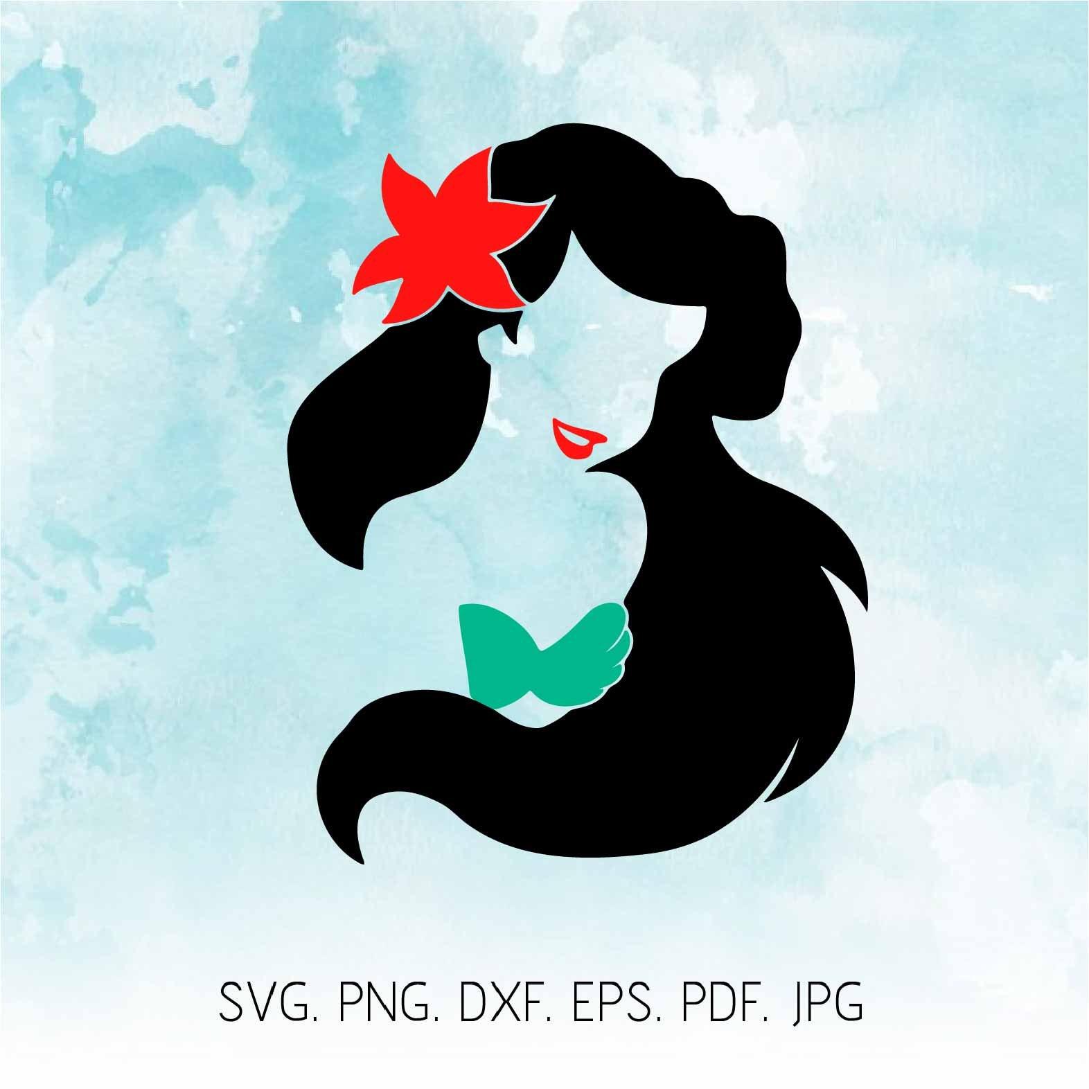 Little Mermaid Svg Ariel Svg Disney Svg Ariel Clipart | Etsy