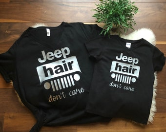 5662807b Jeep Hair Don't Care Shirt, Jeep Wrangler shirt, Jeep Hair Don't Care Shirt,  Jeep shirt, Jeep Hair Shirt, Women's Jeep Shirt, Jeep JK shirt
