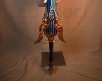 Song of Broken Pines 3D model+template for EVA foam Cosplay Prop