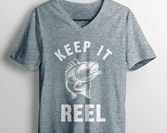 Keep It Reel grunge svg, eps, dxf, png, fishing svg, fisherman svg, digital download file for cricut, for silhouette
