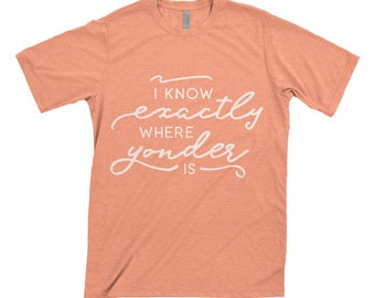 Travel Yonder SVG Yonder Shirt SVG I Know Exactly Where Yonder Is svg, eps, dxf, png digital download file for cricut, for silhouette