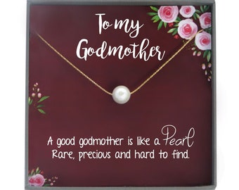 more colors godmother gift for godmother necklace
