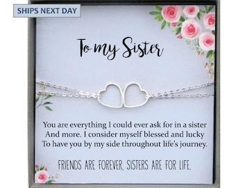 Sisters Bracelet For Sister Gift Birthday Jewelry Sisterhood Gifts