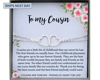 Cousin Gifts For Women Bracelet Cousins Gift Best Friend Birthday By Chance Friends Choice
