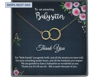 Babysitter Gift for Babysitter Christmas Gift Childminder Gift Thank you gift
