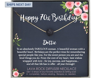 70th Birthday Gift For Mom 70 Year Old Personalized Woman