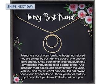 Best Friend Gift Necklace BFF Birthday