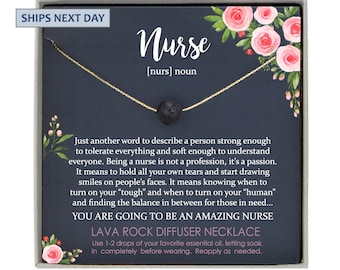 Nurse Graduation Gift for Nurse, new nurse gift ideas Nursing Graduation Gift Necklace, Nurse Gift for Graduation Nursing Student Gift