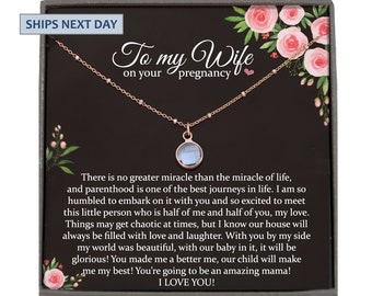 Baby birt gift for mommy Baby feet necklace Expected baby gift Necklace for mom Pregnancy gift idea Wish baby gift Baby shower gift