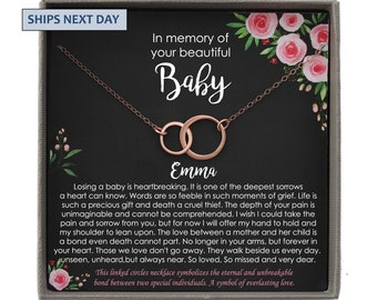 Sorry for your loss Miscarriage Keepsake Grief Memorial Jewelry Baby Loss Miscarriage Heart Bracelet Gift Sterling Silver Rose Gold MC