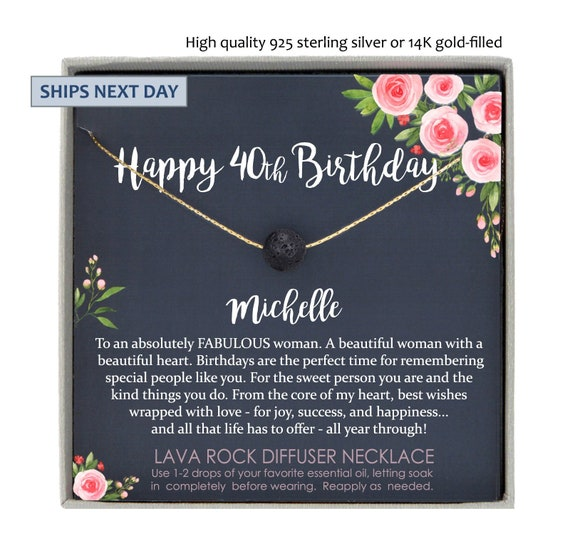 40th Birthday Gifts For Women Gift Ideas 40 Year Old