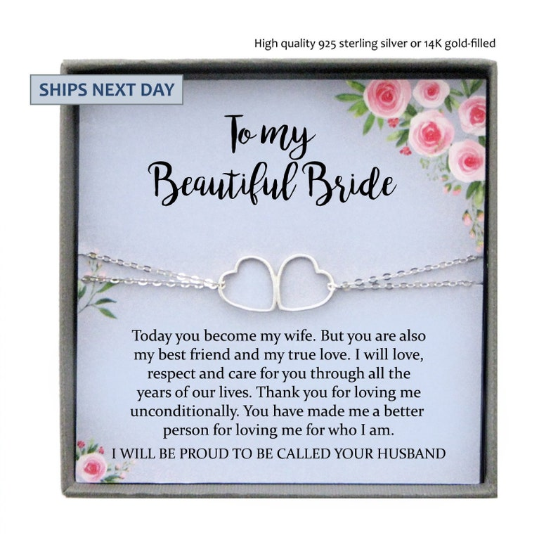 Gift To Bride From Groom On Wedding Day: Wedding Day Gift For Bride From Groom To My Beautiful