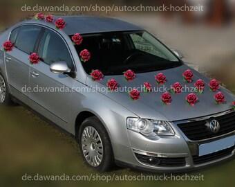 Autodeko Hochzeit Etsy