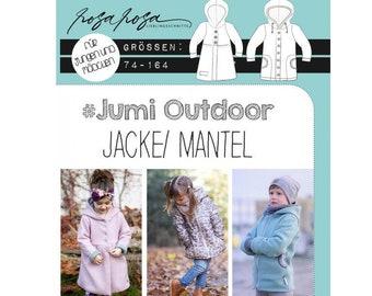 Sewing pattern Jumi Outdoor pink pink 74-164