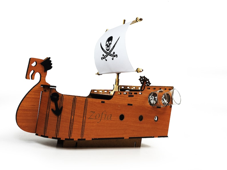 Pirate Ship Birthday Gift Idea For Him Anniversary
