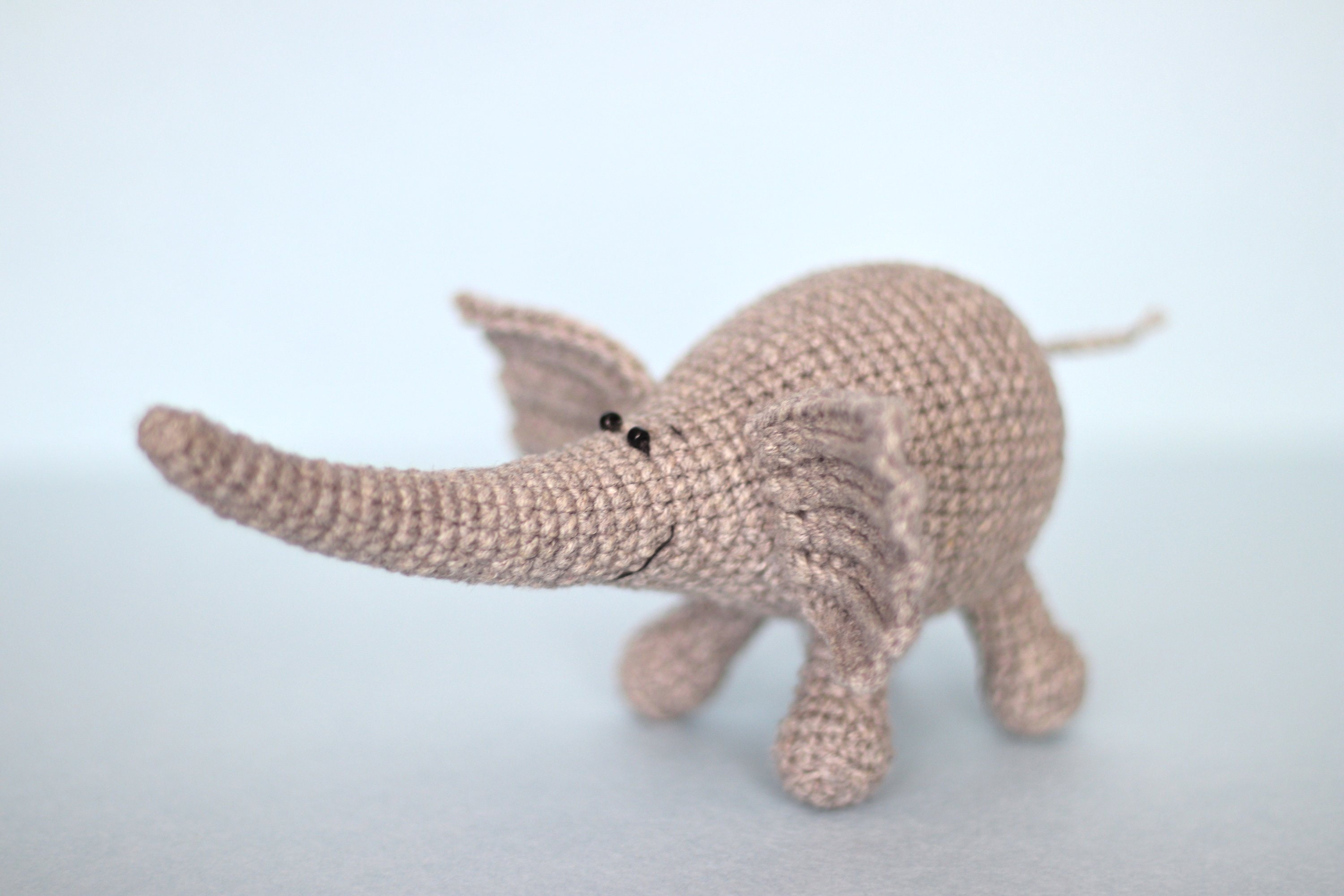 Crochet Elephant Amigurumi Kit: British Wool | TOFT | 2000x3000
