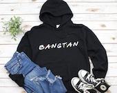 Bangtan Hoodie, BTS Hoodie, BTS Friends Tv Show Hooded Sweatshirt, Bangtan Sonyeondan Sweatshirt, BTS Boys Hoodie, Korean Fashion
