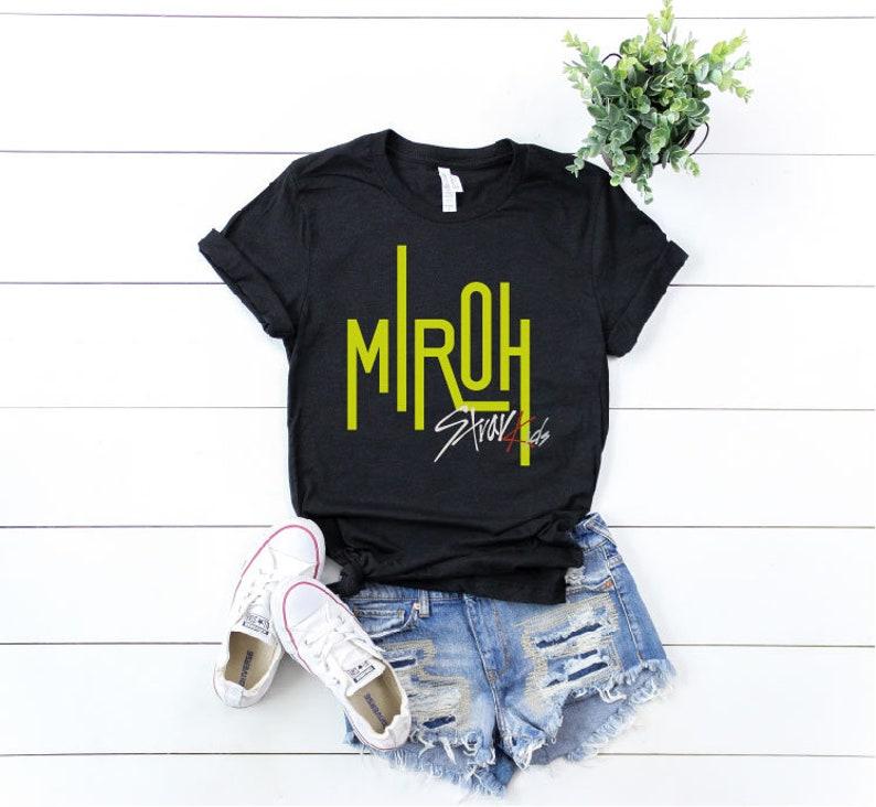 f8a729488 Miroh Shirt Stray Kids Miroh T-shirt Stray Kids 19 Shirt   Etsy