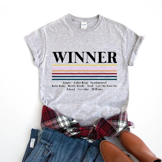 Winner Shirt, Winner K-Pop T-Shirt, Inner Circle Fandom Shirt, Winner  Millions T-shirt, Everyday Winner Shirt, Sentimental Winner T-shirt
