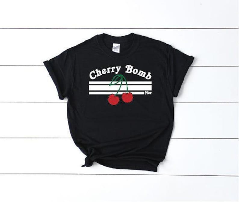 0f65db12657 Cherry Bomb NCT Shirt Nctzen T-Shirt Nct127 Shirt Nct U