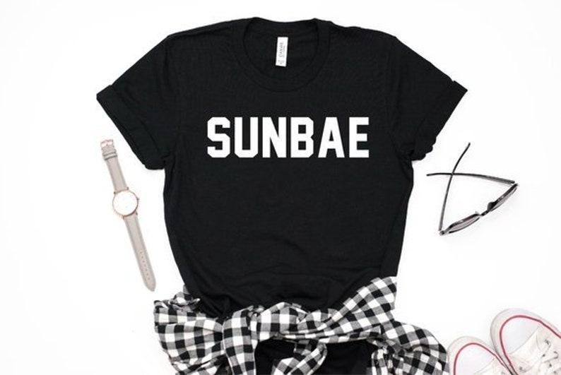 13b017edb Sunbae Shirt Hoobae Shirt Maknae T-shirt BTS Shirt NCT   Etsy