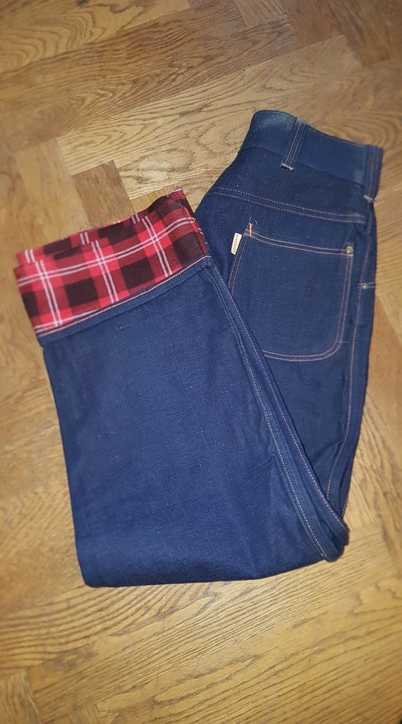 RESERVED Deadstock Original Womens Lined Jeans