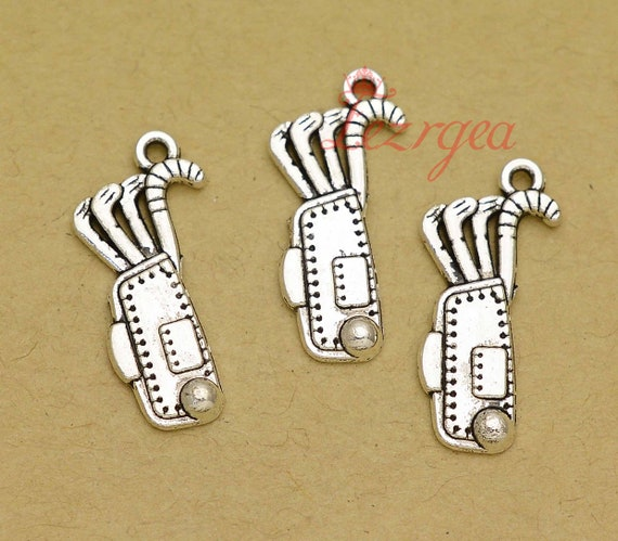 20pcs I Love Quilting Charms Silver Tone Quilting Charms Pendants 12x25mm