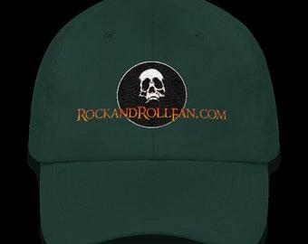 Rock and Roll Fan.com Hat - Classic Dad Cap (colors  Stone b930d1a82022
