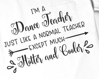 Dance teacher quotes | Etsy