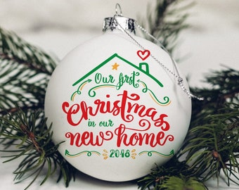 First Christmas In Our New Home Svg.Baby First Christmas Svg With Cute T Rex Dinosaur With Etsy