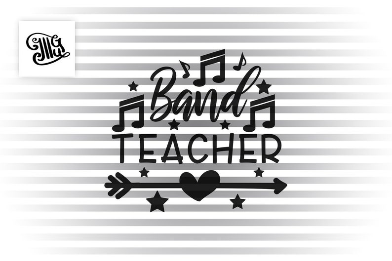 teacher appreciation svg Band teacher SVG music teacher svg kindergarten teacher svg school teacher svg, teacher shirt svg