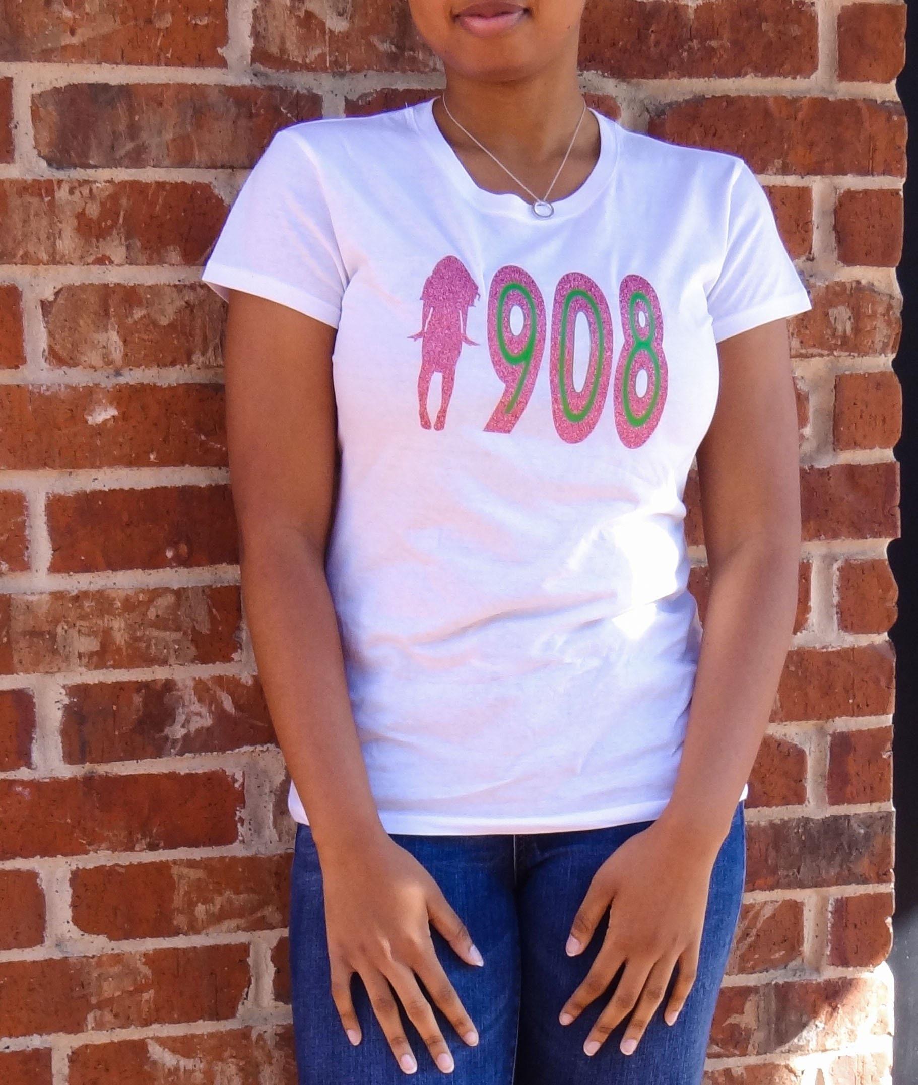 bbd70f71768e0 1908 - Alpha Kappa Alpha T-Shirt