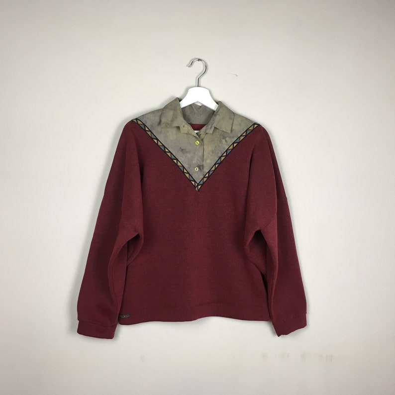 detailed look 97a14 1fac2 Sweat-Pulli Weinrot