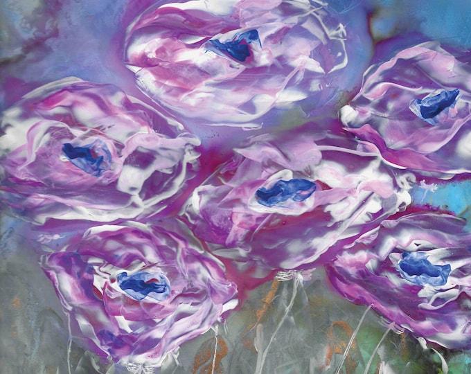 Purple Mist - 8.5 x 11 Print