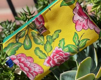 Zippy clutch, Wristlet phone clutch Wallet/Zipper purse pouch