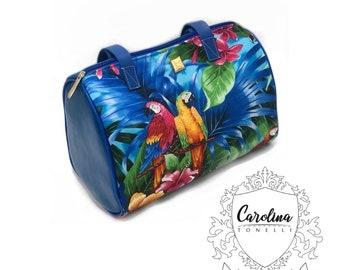 Crossbody    Pretty Handbags   Womans gift    Water resistant    Vegan Leather   Handmade Bag   aboriginal art print   Minimalistic Chic