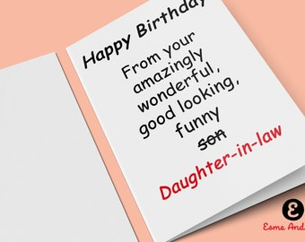 Father In Law Birthday Card Happy From Your Amazingly Wonderful Good Looking Funny Greetings