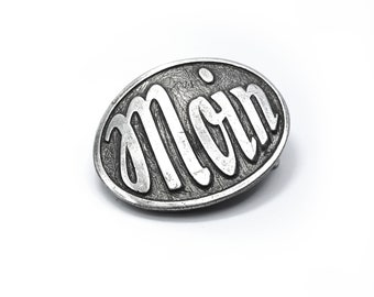 MOIN Belt buckle oval