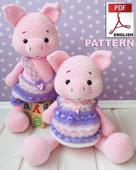 Amigurumi Little Piggy Free Pattern   710x570