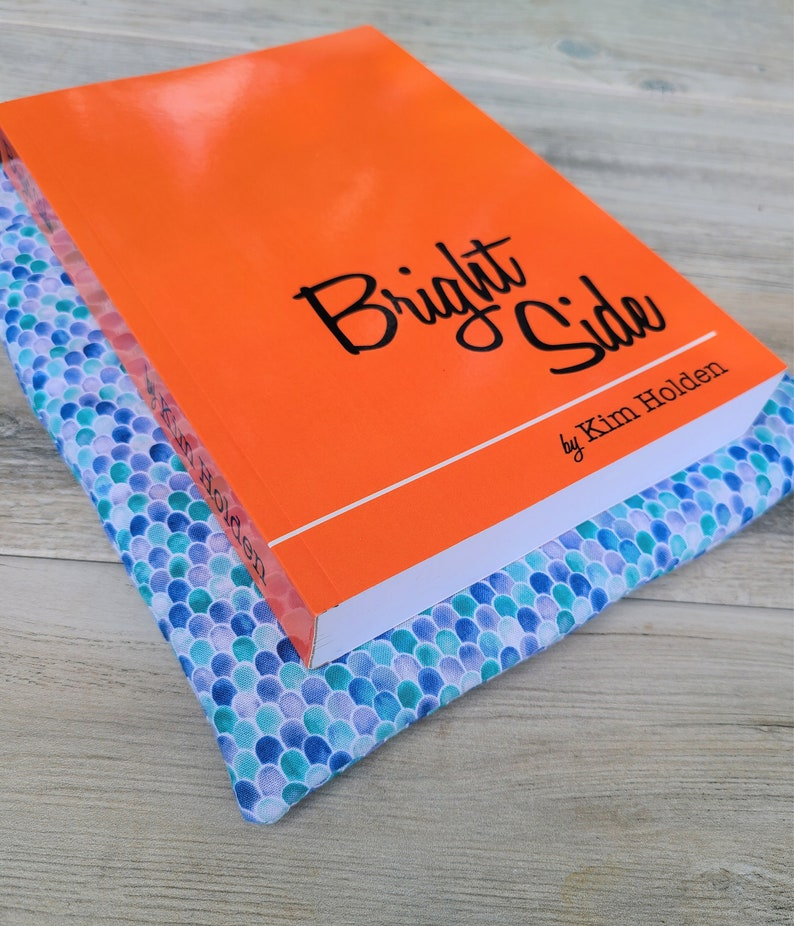 Mermaid Book Sleeve Book Lover Gift for Her Paperback image 3